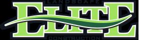 Elite Landscape Construction full color logo small