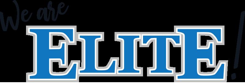 We Are Elite! logo full color